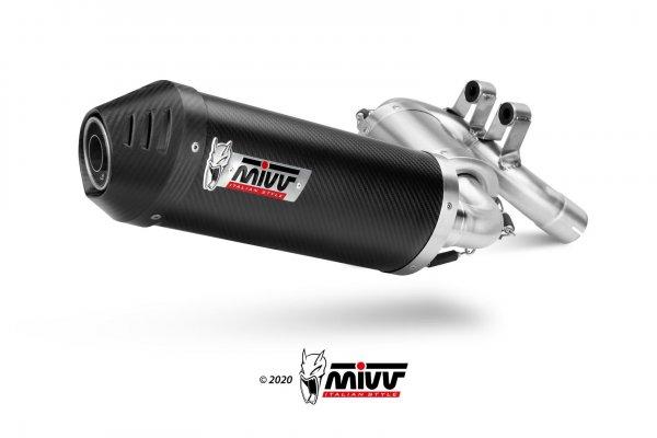 Układ wydechowy MIVV OVAL KARBON SLIP-ON BMW F 900 XR 2020 - TERAZ